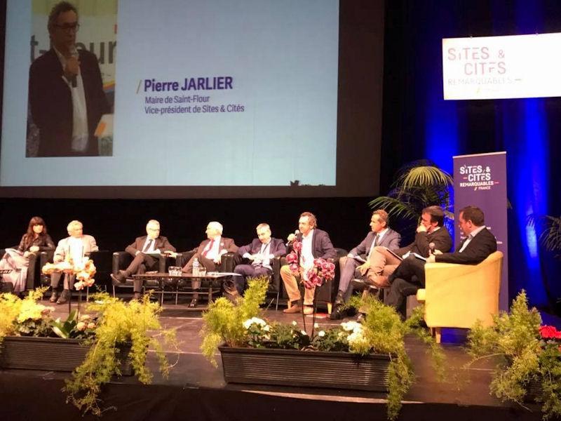 Intervention lors du Congrès Sites et Cités remarquables de France