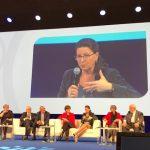 """La ministre de la Santé Agnès Buzyn lors du débat """"Les territoires ruraux, acteurs incontournables d'une véritable alliance des territoires"""""""