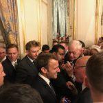 Réception à l'Elysée à l'invitation du Président de la République et de son épouse