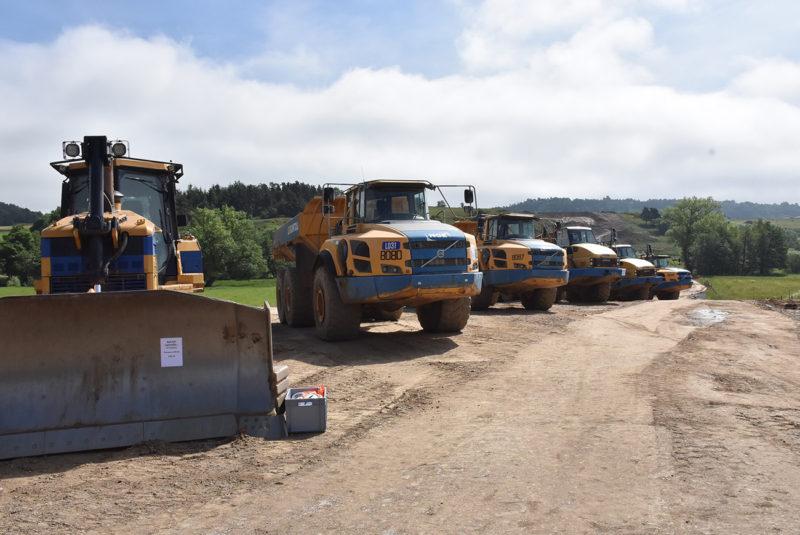 Visite de chantier de la rocade