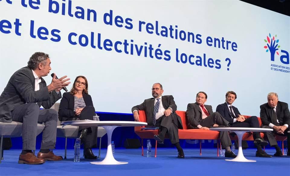 congres des maires - intervention de pierre Jarlier décentralisation