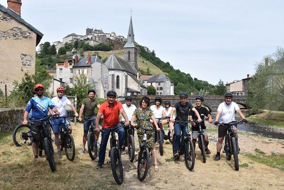 Pierre JARLIER test les vélos GTMC massif central