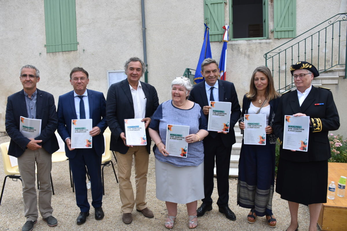 remise du rapport agenda rural allier