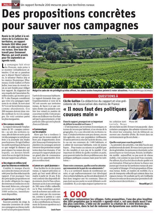 le dauphine libere-agenda rural-11aout2
