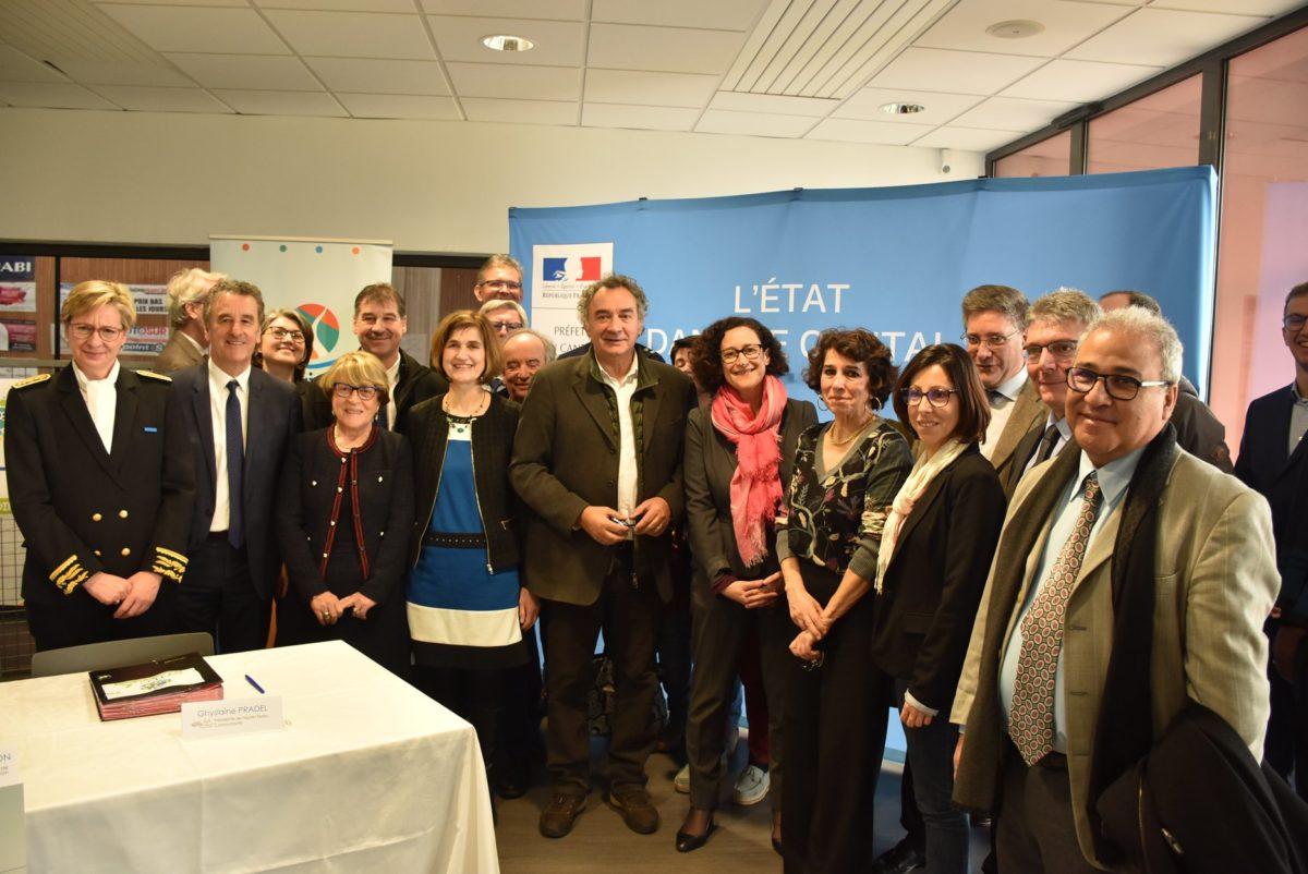 signature du CTE sytec avec la ministre 2020
